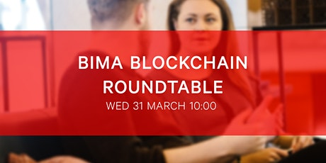 BIMA Blockchain Roundtable |  Defi - a blockchain megatrend introduction biglietti