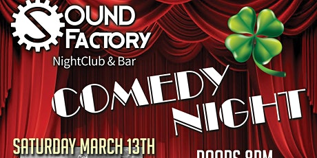 Comedy Night St Patty's Weekend tickets