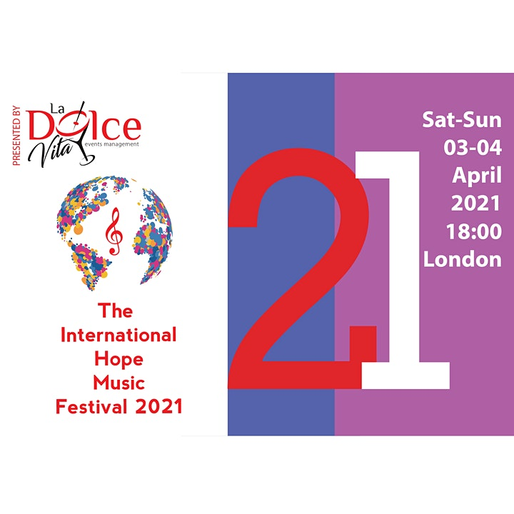 The International Hope Music Festival 2021 image