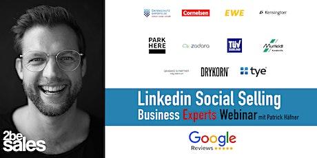 Social Selling Business Experts Webinar / GERMAN Tickets