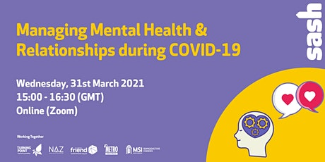 Mental Health & Relationships During COVID-19 tickets