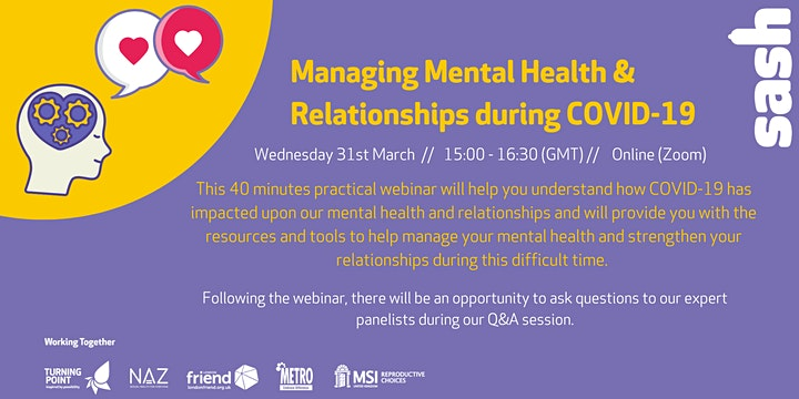 Mental Health & Relationships During COVID-19 image