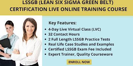 LSSGB Certification LVC Training in Flower Mound, TX tickets