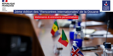 2èmes Rencontres Internationales de la Douane billets