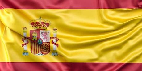 Spanish Cafe · Conversation Activity Spanish tickets