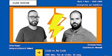 1st CLASH SESSION : Code vs. NoCode biglietti