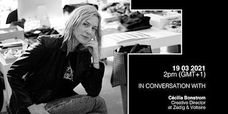 Hybrid conversation with Cécilia Bonstrom billets