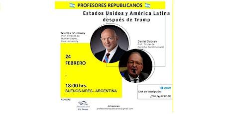 Estados Unidos y América Latina después de Trump entradas