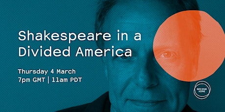 James Shapiro: Shakespeare in a Divided America tickets