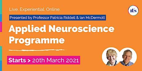 Applied Neuroscience Programme: Professor Patricia Riddell - 10 full days tickets
