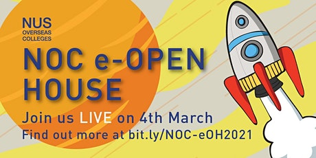 NUS Overseas Colleges e-Open House Live tickets