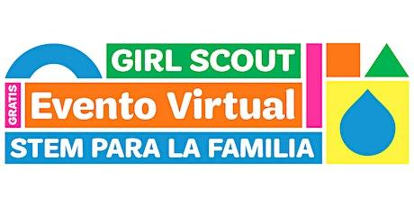 Evento familiar virtual de Girl Scouts: Piense como un ingeniero. STEM boletos