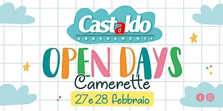 Open Days Camerette biglietti