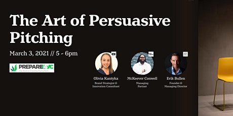 The Art of Persuasive Pitching tickets