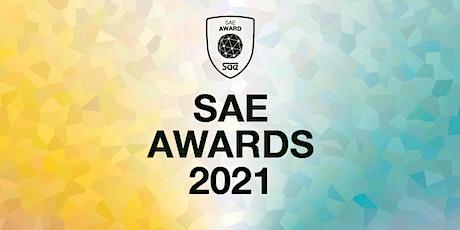 SAE Awards 2021 - Réunion d'information billets