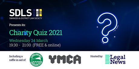 Swansea & District Law Society Charity Quiz 2021 tickets