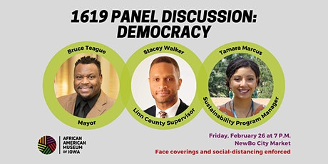1619 Panel Discussion: Democracy tickets