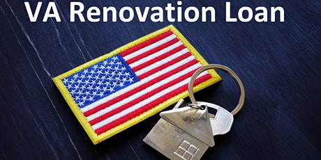 """VA Renovation Program - Home Improvement & Grants Live  Zoom  3 HR CE tickets"