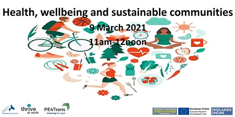 Health, wellbeing and sustainable communities tickets