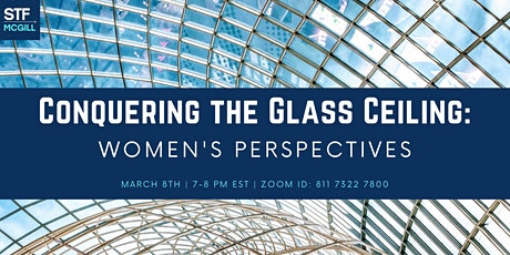 Conquering the Glass Ceiling: Women's Perspectives tickets