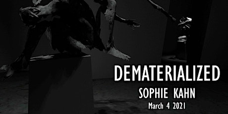 Opening for online solo exhibition: Dematerialized tickets