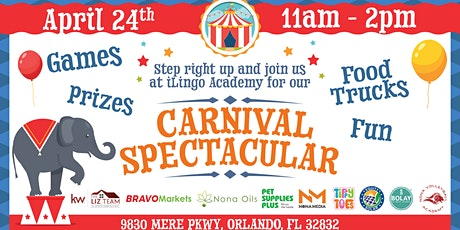 iLingo Grand Opening - CARNIVAL SPECTACULAR tickets
