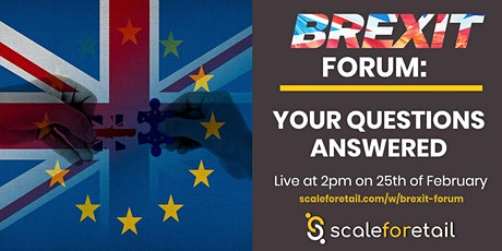Webinar: Brexit Forum: Your Questions Answered tickets