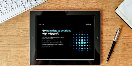 Analytics in a day  - Go from data to decisions with Microsoft biglietti