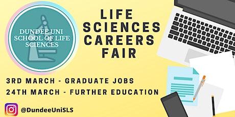 School of Life Sciences: Graduate Jobs Careers Fair tickets