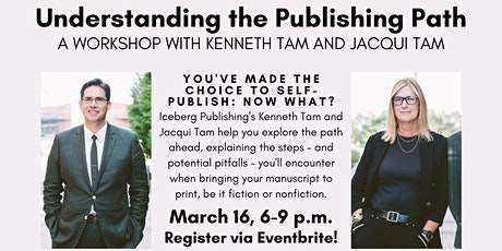 """""""Understanding the Publishing Path"""" with Kenneth Tam and Jacqui Tam! tickets"""