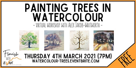 Flourish: Painting Trees in Watercolour with Alex Jakob-Whitworth tickets