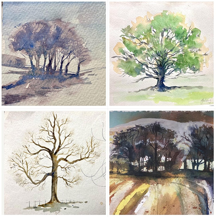 Flourish: Painting Trees in Watercolour with Alex Jakob-Whitworth image