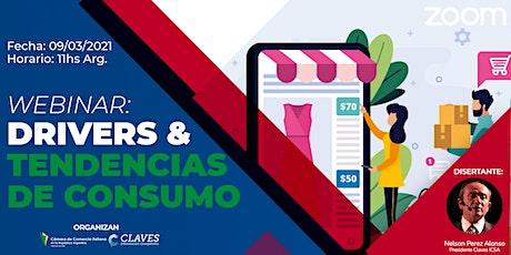 Tendencias de Consumo - Evento especial CCIBAIRES & CLAVES entradas