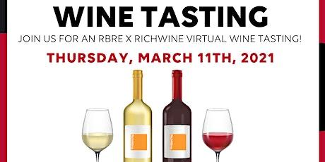 Red or White? Virtual Wine Tasting w/ RichWine tickets