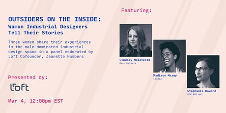 Outsiders on the Inside: Womxn Industrial Designers Tell Their Stories Tickets
