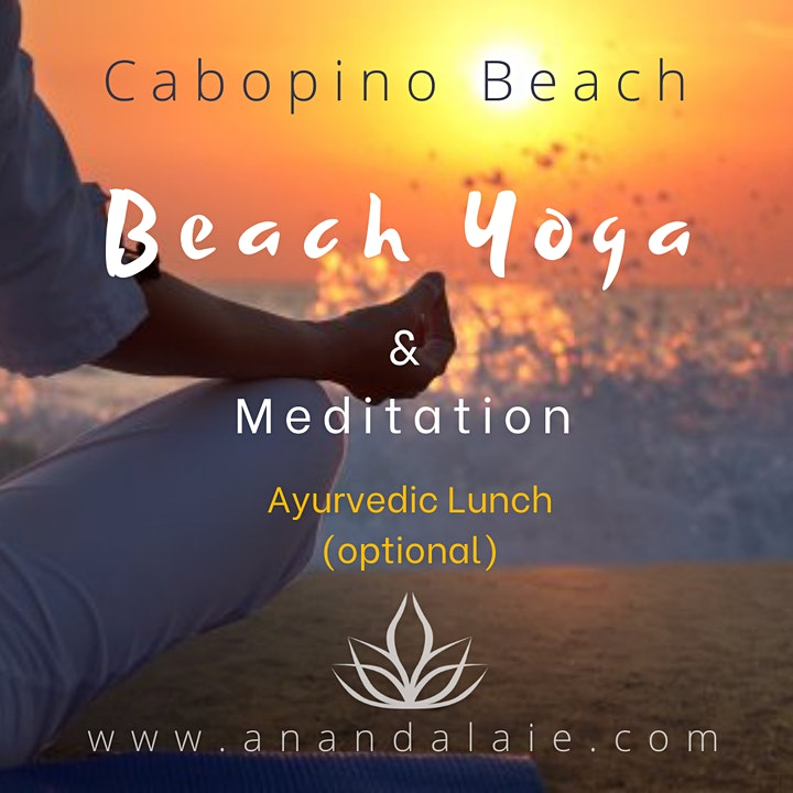 Imagen de Beach Yoga & Meditation (Ayurvedic Lunch optional)