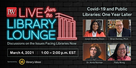 Covid-19 and Public Libraries: One Year Later tickets