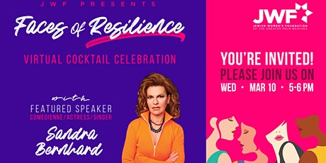 JWF Presents Faces of Resilience , A Celebration of the Strength of Women tickets