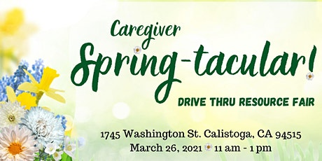 Springtacular!  Caregiver Drive Thru Resource Fair tickets