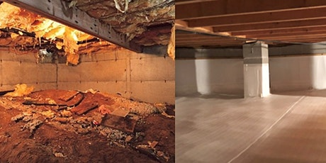 Crawlspaces Done Right | Louisville, KY tickets