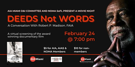 Deeds Not Words - A documentary Film Night tickets