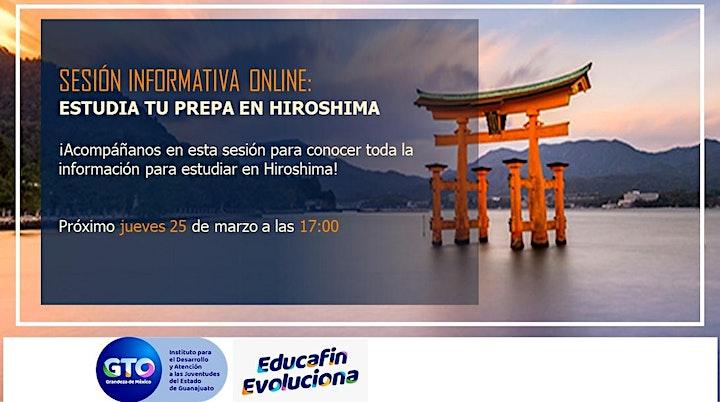 Imagen de Sesión informativa Estudia Preparatoria en Hiroshima