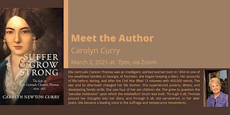 Meet the Author: Carolyn Curry tickets