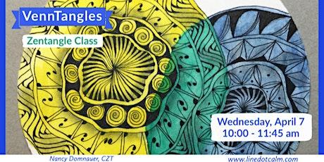 Zentangle®  VennTangles Class tickets