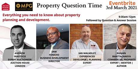 Everything you need to know about property planning and development. tickets