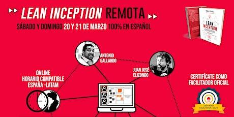 Formación Lean Inception - Online y En Vivo boletos