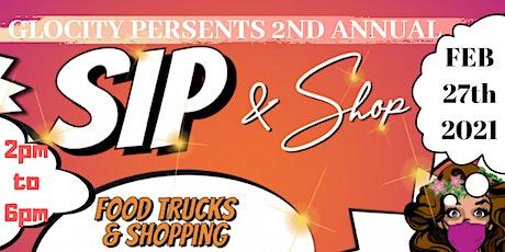 GloCity Sip & Shop tickets