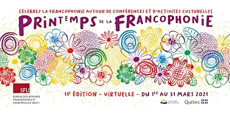 PDLF 2021 - Conférence de Fernand de Varennes ingressos