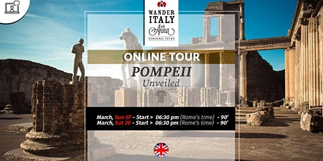 Pompeii Unvealed tickets