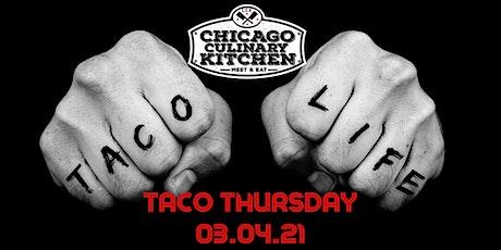 Taco Thursday 03.04.21 tickets